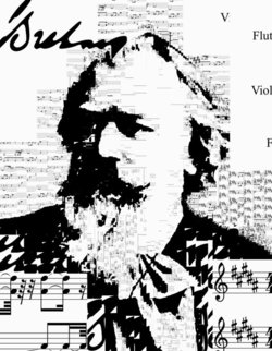 Brahms. Sheet music from Symphony No. 4 in E minor